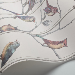 Décor mural - Cole and Son - Uccelli - Neutral