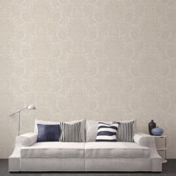 Papier peint - Cole and Son - Dukes Damask - Stone