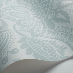 Papier peint - Cole and Son - Dukes Damask - Duck Egg