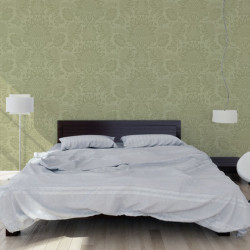 Papier peint - Cole and Son - Dukes Damask - Olive