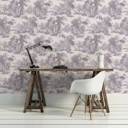 Papier peint - Cole and Son - Villandry - Dove Grey