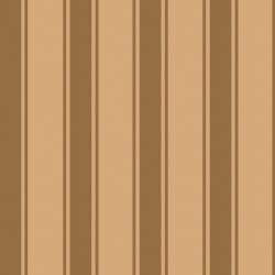 Papier peint - Cole and Son - Pavilion Stripe - Orhre & Gold