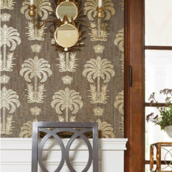 Papier peint - Thibaut - Palm Springs Cork - Metallic Gold