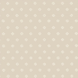 Papier peint - Cole and Son - Victorian Star - Grey