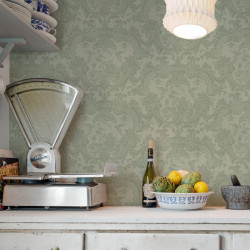 Papier peint - Cole and Son - Chippendale China - Olive