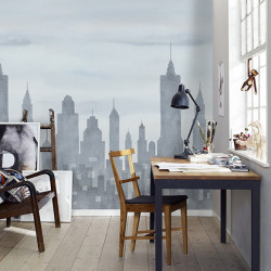 Décor mural - Sandberg - New York - Grey