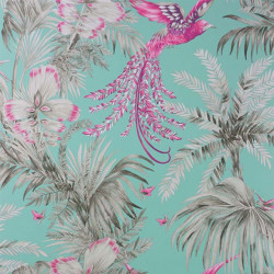 Papier peint - Matthew Williamson - Bird of Paradise - Mint Multi