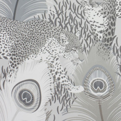 Papier peint - Matthew Williamson - Leopardo - Silver