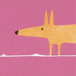 Papier peint - Scion - Mr Fox - Fuchsia