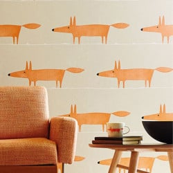 Papier peint - Scion - Mr Fox - Ginger