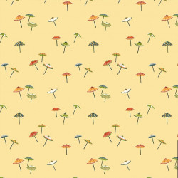 Papier peint - Thibaut - Umbrella - Yellow