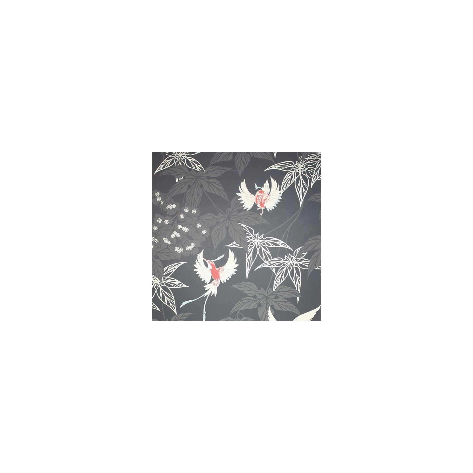 Papier Peint Oiseaux Noir Grove Garden Osborne Little Au Fil