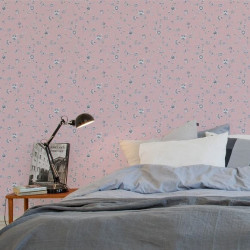 Papier peint - The Vintage Collection - Porcelain Floral - Pink