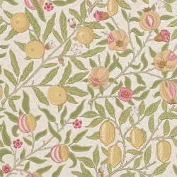 Papier peint - Morris and Co. - Fruit - Vert et jaune