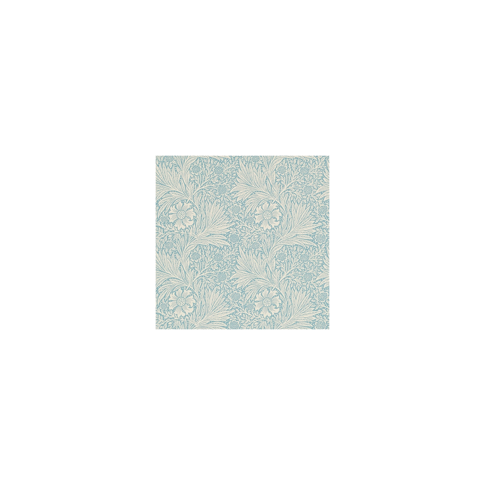Papier Peint Marigold Bleu Clair Collection The Craftsman Wallpapers Morris Co