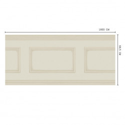 Frise - Cole and Son - Library Frieze - Cream