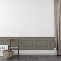 Frise - Cole and Son - Library Frieze - Dark Linen