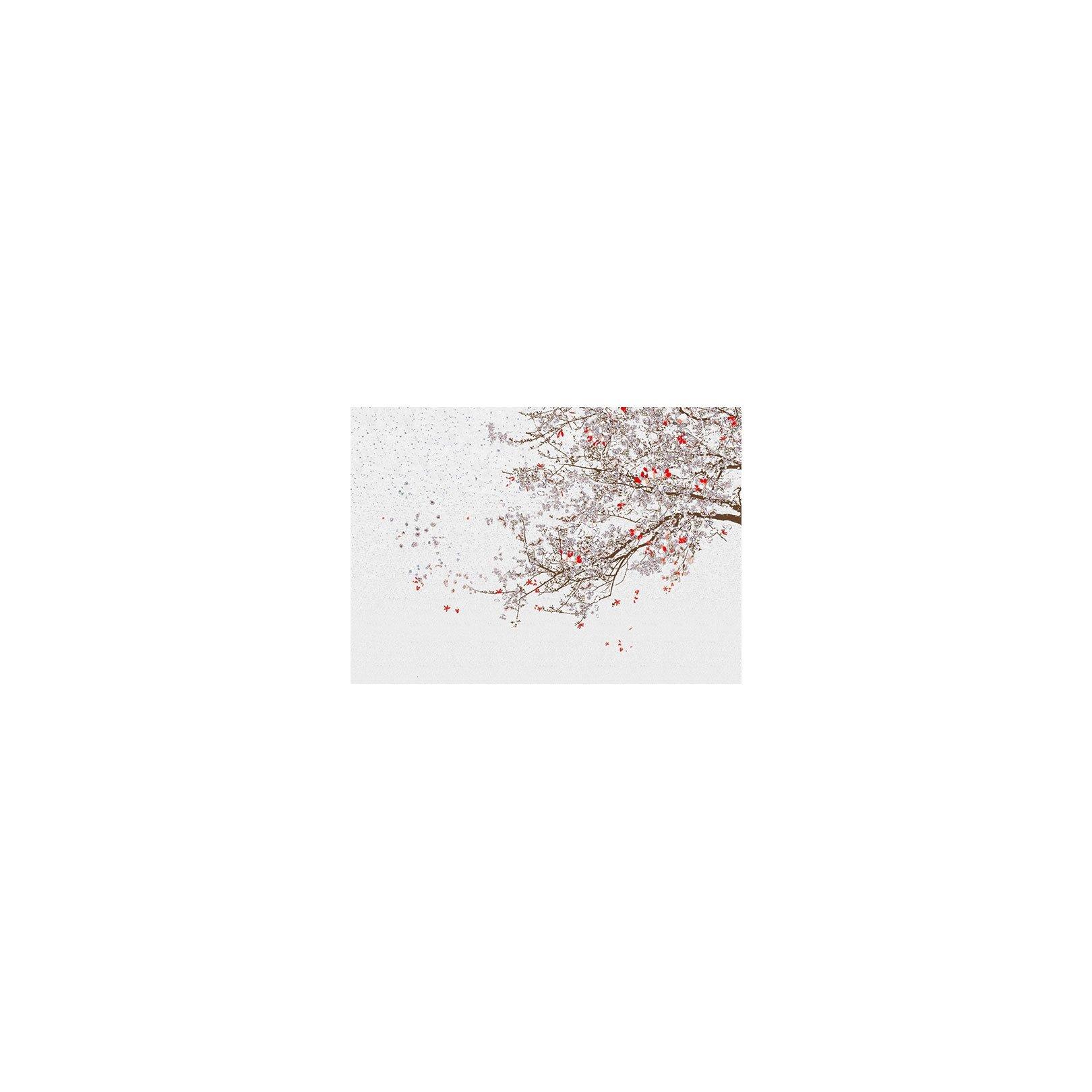 Décor mural - Wall & Deco - Momo - Rouge et blanc