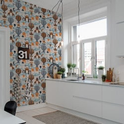 Papier peint - Mini Moderns - Pleasure Gardens - Tangerine Dream