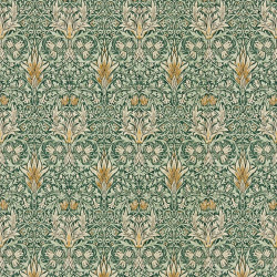 Papier peint - Morris and Co. - Snakeshead - Forest/Thyme