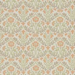 Papier peint - Morris and Co. - Morris Bellflowers - Saffron/Olive