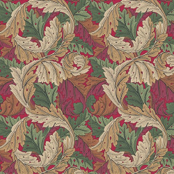 Papier peint - Morris and Co. - Acanthus - Madder/Thyme