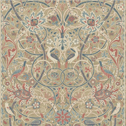 Papier peint - Morris and Co. - Bullerswood - Spice/Manilla