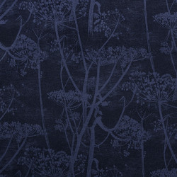 Tissu - Cole and Son - Cow Parsley Velvet - Hyacinth & Ink