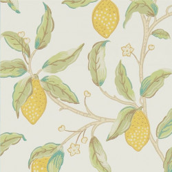 Papier peint - Morris and Co. - Lemon Tree - Bay Leaf