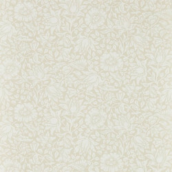 Papier peint - Morris and Co. - Mallow - Cream Ivory