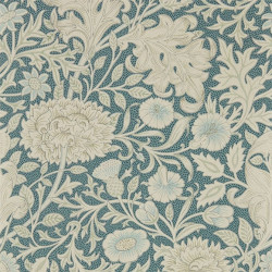 Papier peint - Morris and Co. - Double Bough - Slate Blue