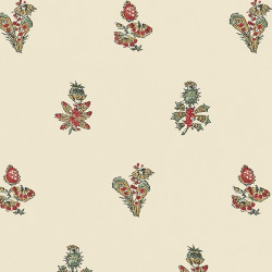 Papier peint - Anna French - JOUY - Red and Gold