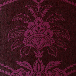 Papier peint - Anna French - Damask - Purple and Brown