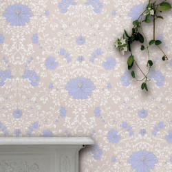 Papier peint - Cole and Son - Wild Flowers - Brown