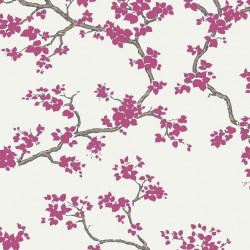 Papier peint - York Wallcovering - Branches - Raspberry