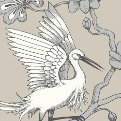 Papier peint - York Wallcovering - Egrets - Taupe