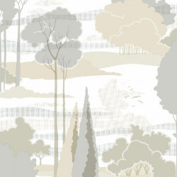 Papier peint - York Wallcovering - Macarthur park - Neutral