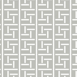 Papier peint - York Wallcovering - Oriental filigree - Grey