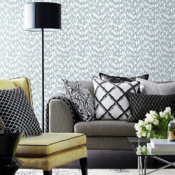 Papier peint - York Wallcovering - WATERJET - Blue