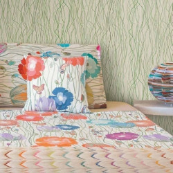 Papier peint - Missoni Home - Poppies Stem - Day