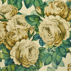 Papier peint - Designer's Guild - The rose - Sepia