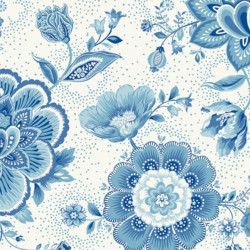 Papier peint - PIP Studio - Folklore chintz - Light blue