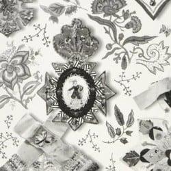Papier peint - Christian Lacroix - Cocarde - lys