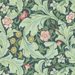 Papier peint - Morris and Co. - Leicester - Woad/Sage