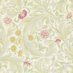 Papier peint - Morris and Co. - Leicester - Marble/Rose