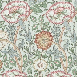 Papier peint - Morris and Co. - Pink and Rose - Eggshell/Rose