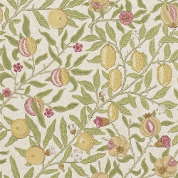 Papier peint - Morris and Co. - Fruit - Limestone / Artichoke