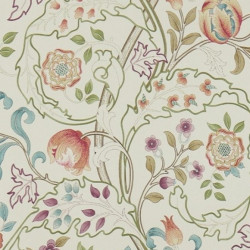 Papier peint - Morris and Co. - Mary isobel - russet/taupe