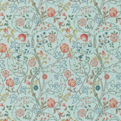 Papier peint - Morris and Co. - Mary isobel - silk blue/pink