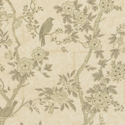 Papier peint - Ralph Lauren - Marlowe floral - Mother of pearl